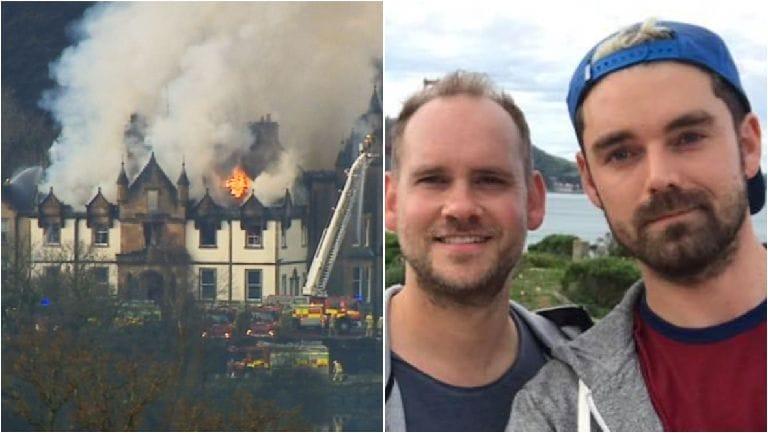 Cameron House: Simon Midgley and Richard Dyson died.