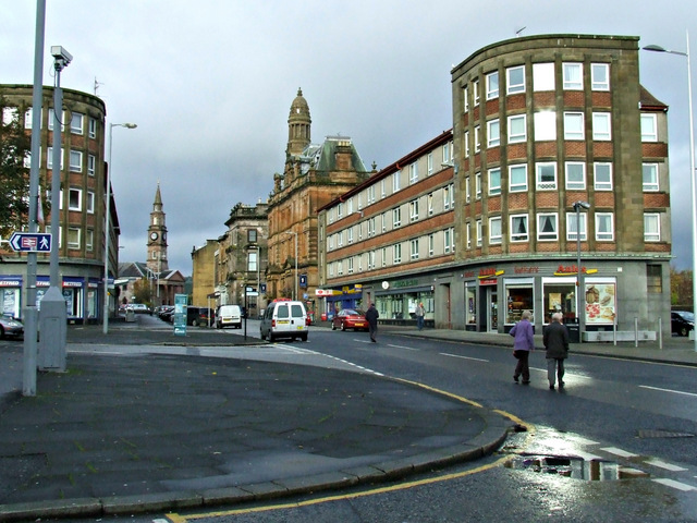 Greenock: Parts of town centre ranked Scotland's most deprived.
