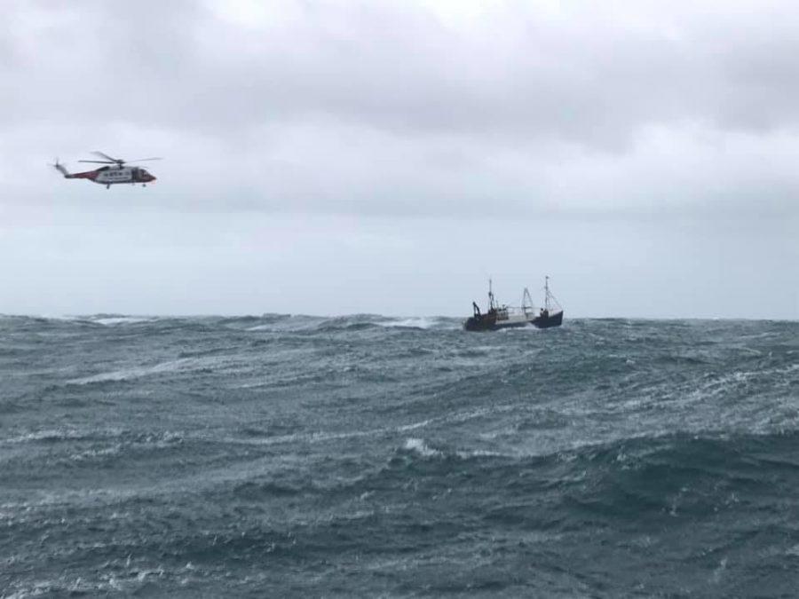 Lochinver RNLI lifeboat.