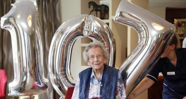 Anne Robson: The war veteran celebrating her 107th birthday in 2018.