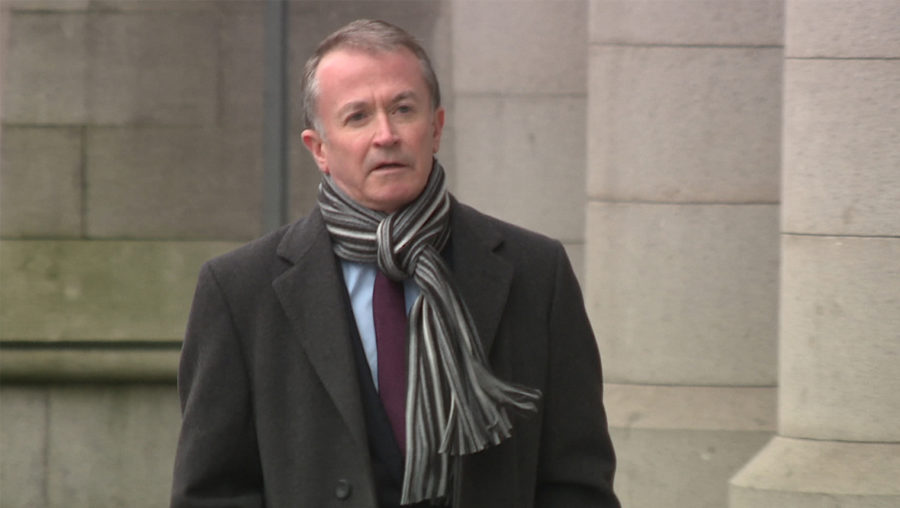 Wilkie-Thorburn was fined £700 at Aberdeen Sheriff Court.