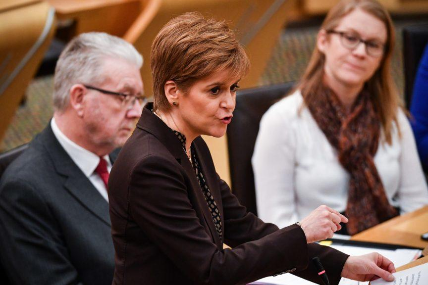 Nicola Sturgeon: Imposing Brexit on Scotland an 'affront'.