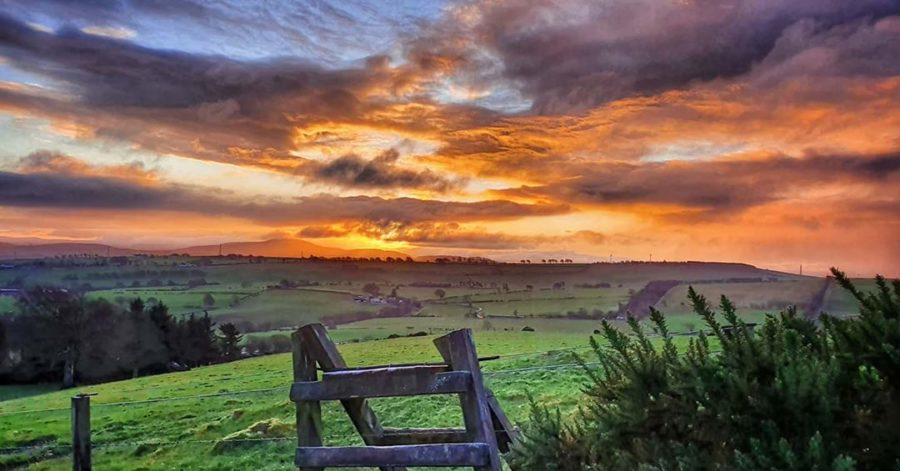 Sunrise on Black Hill by @caledoniawanderer.