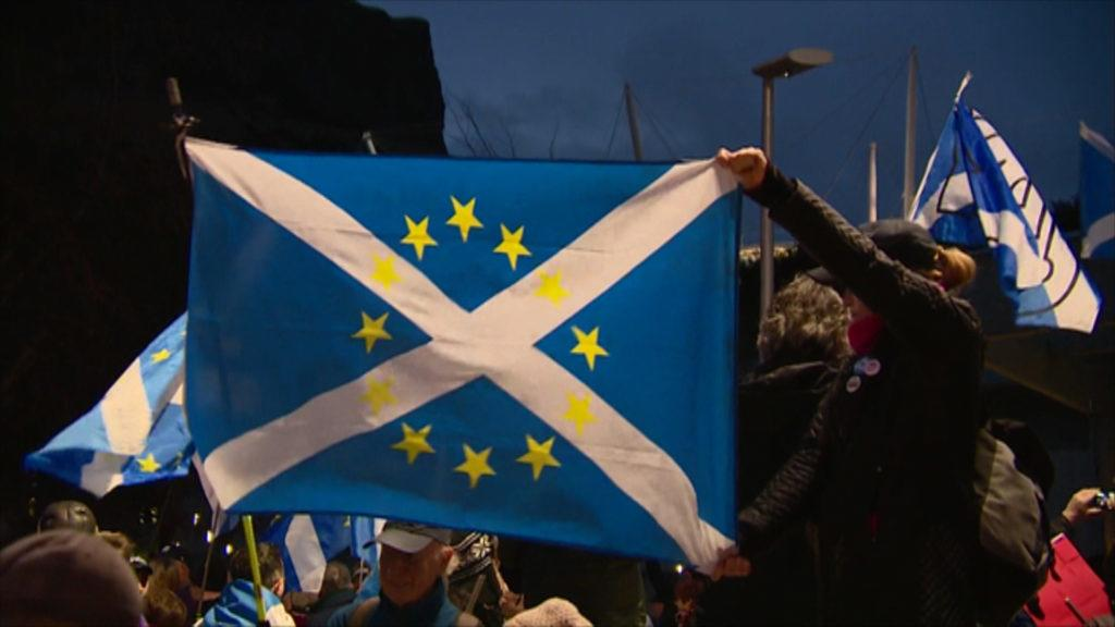 EU: Could Scotland rejoin as an independent country?