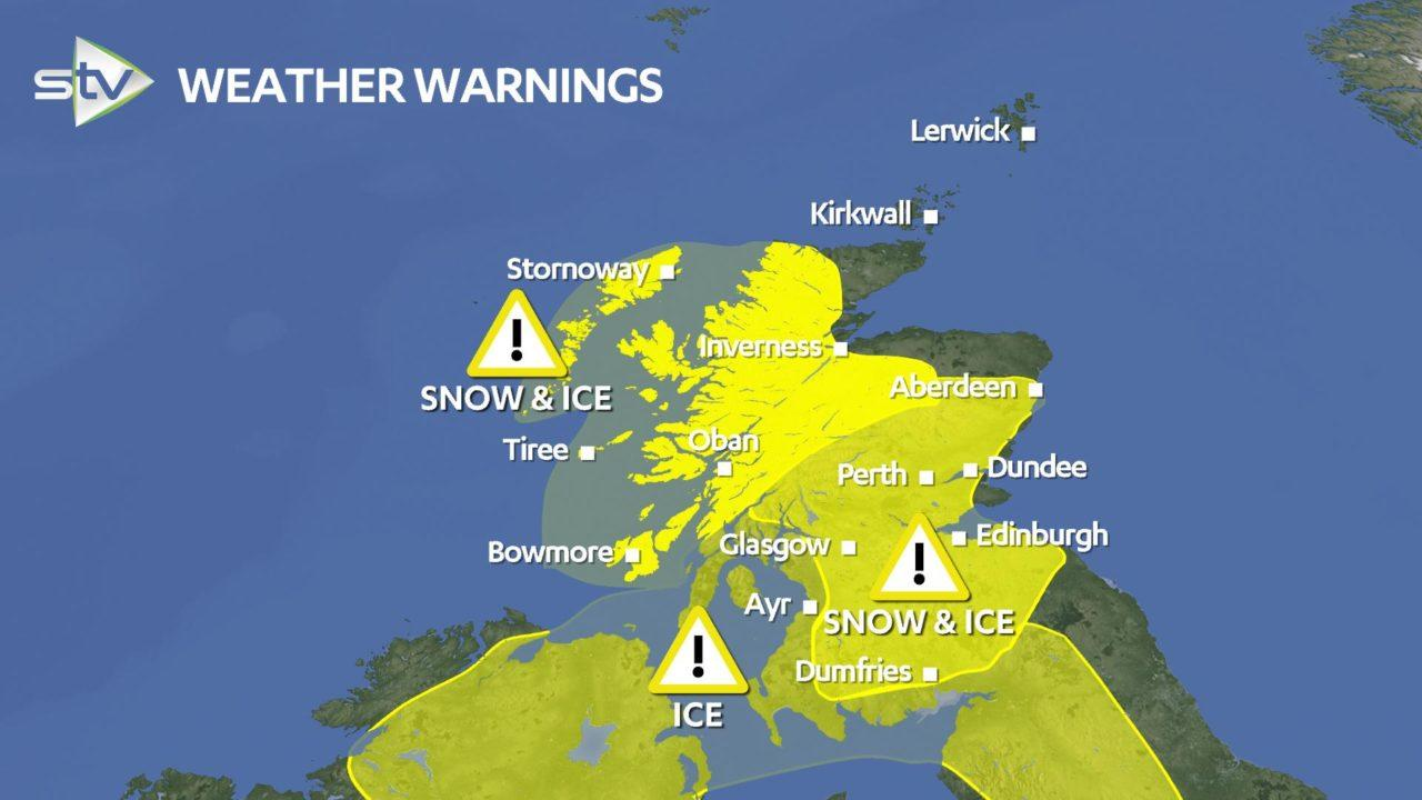 Scots will 'wake up to winter' as snow warning issued