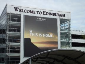 Edinburgh Airport.