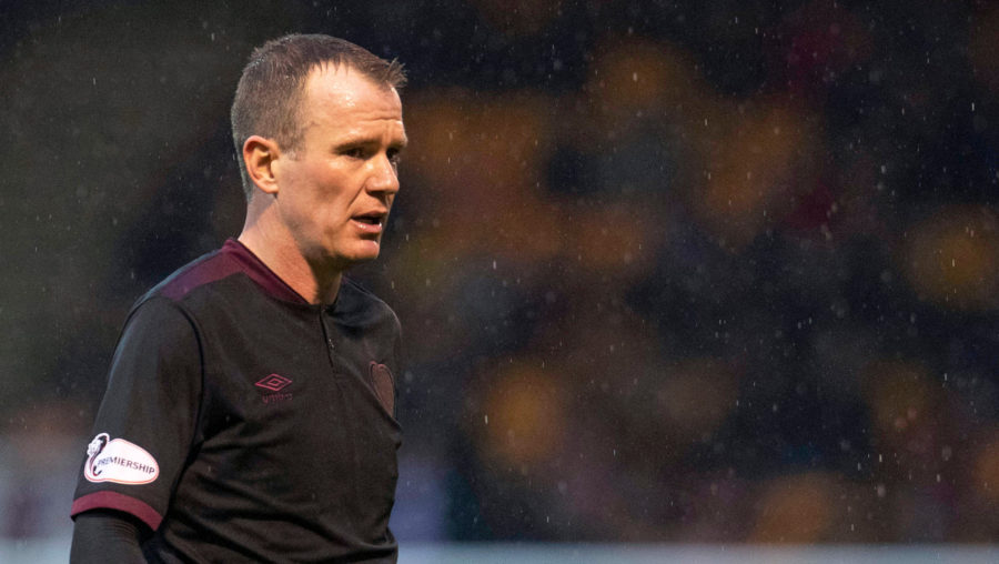 Whelan has left Hearts by mutual consent.