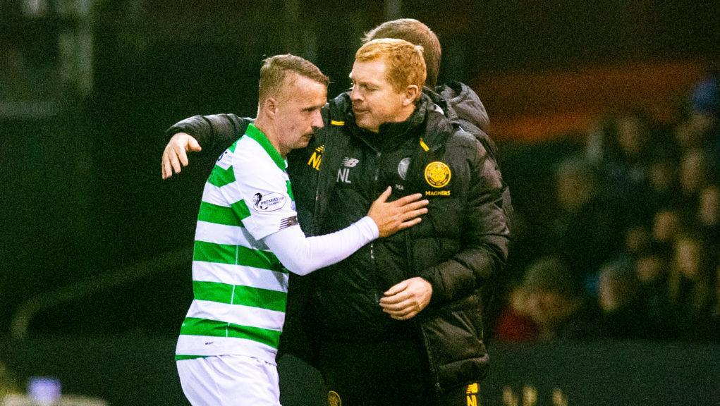 Griffiths scored for Celtic against Kilmarnock.