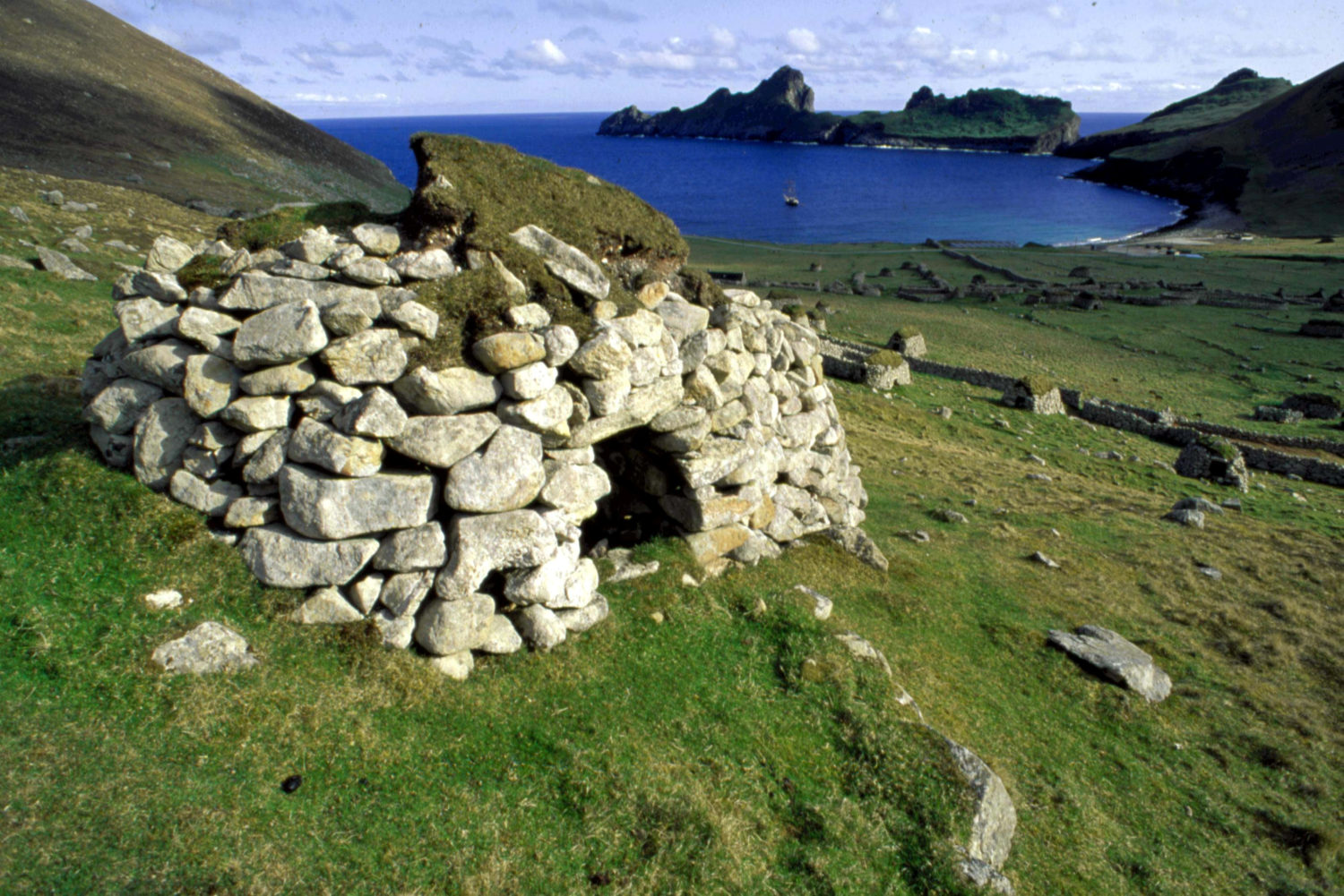 Staff wanted to work on remote island of St Kilda