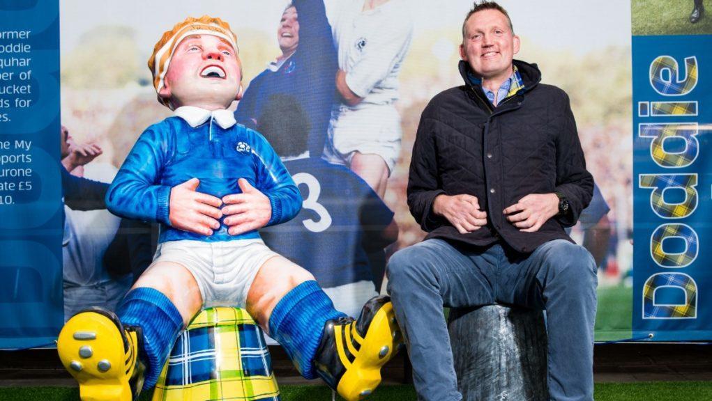 Doddie Weir: Rugby legend's charity set to benefit.