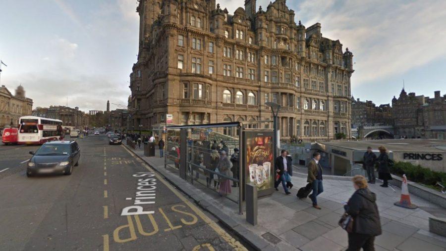 Edinburgh: The man was attacked near Waverley Mall.