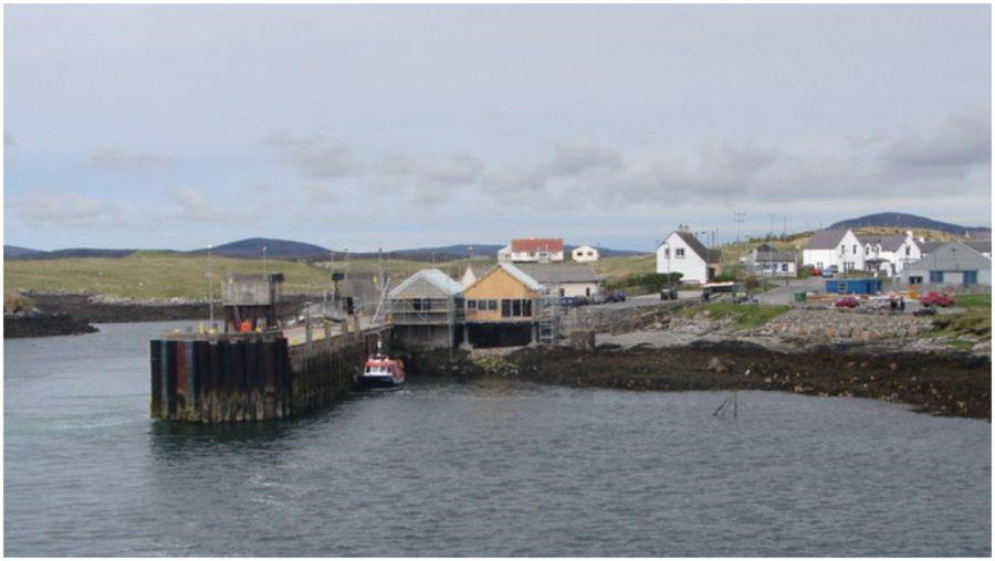 Lochmaddy pier: Improvement work will begin this month.