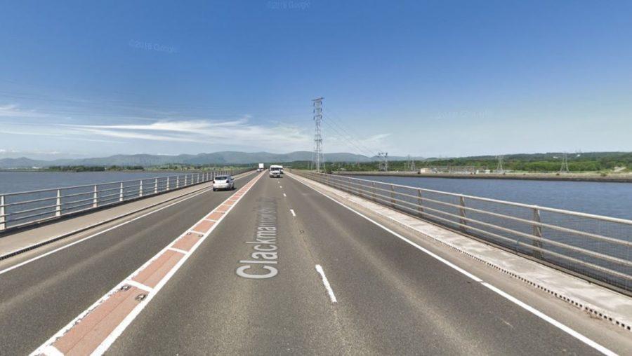 Clackmannanshire Bridge: The incident happened on Sunday night.