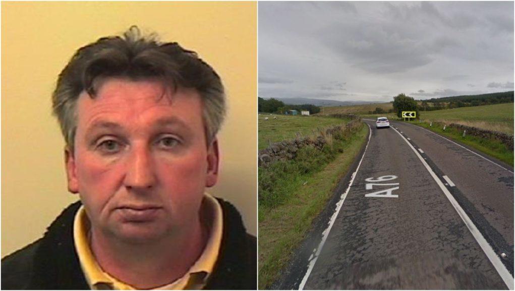 Dangerous driving: William Kennedy pleaded guilty.