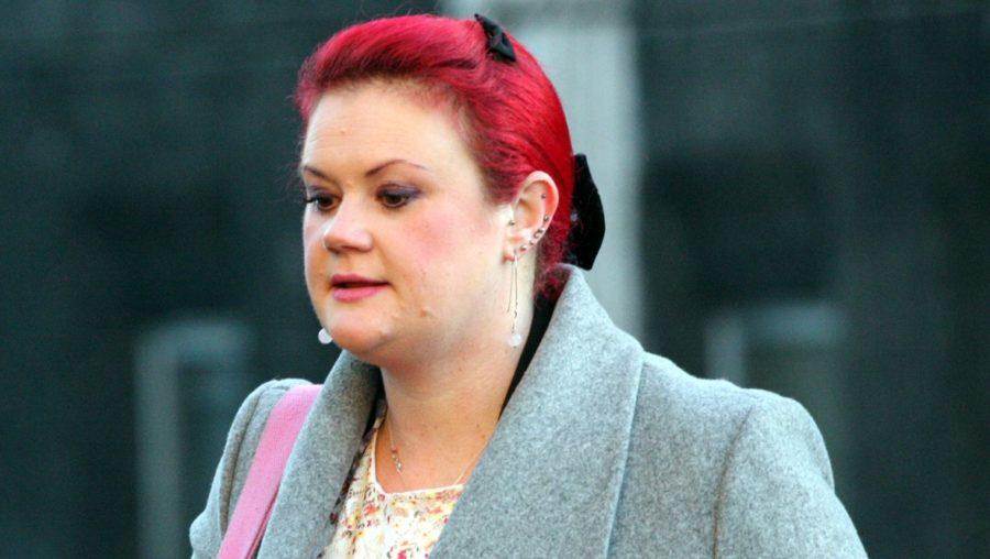 Sentenced: Katy McAllister was given community service.