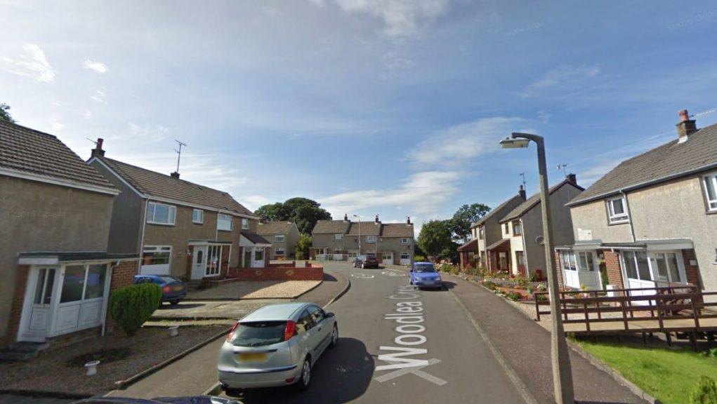 Crosshouse: The robbery took place in Woodlea Crescent.