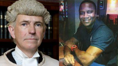 Lord Bracadale and Sheku Bayoh.