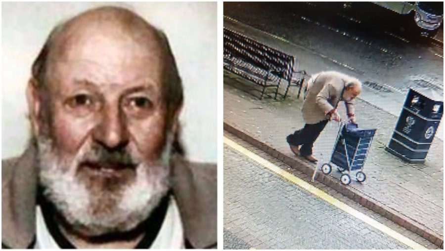 Found: Pensioner Christopher Russell has been traced.