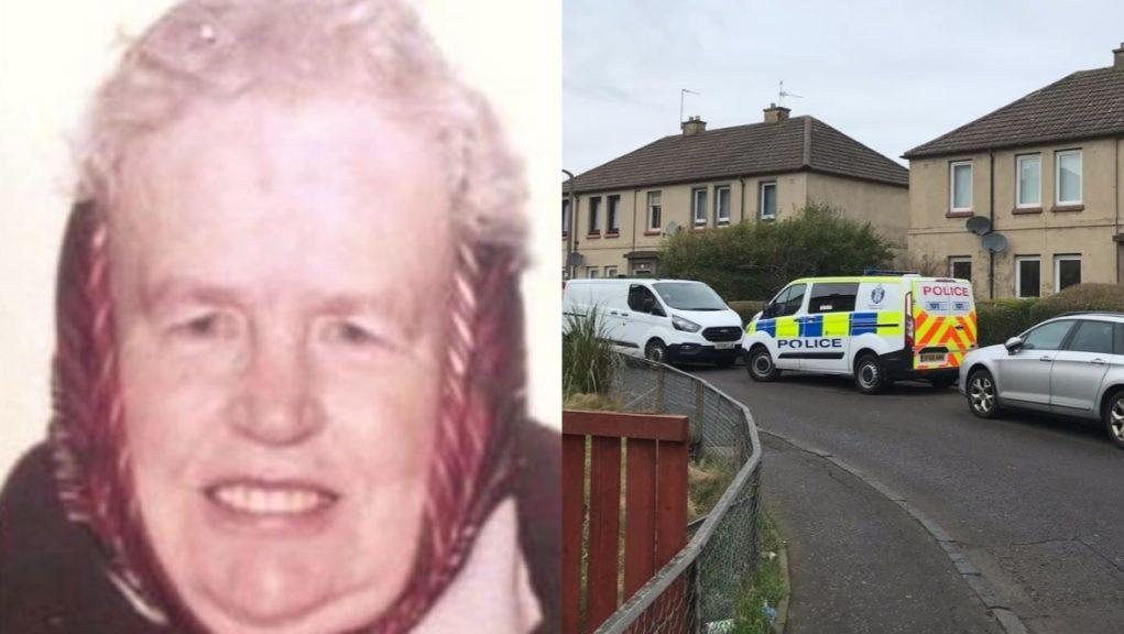 Investigation: Margaret Grant died in hospital following a disturbance at her home in Edinburgh.