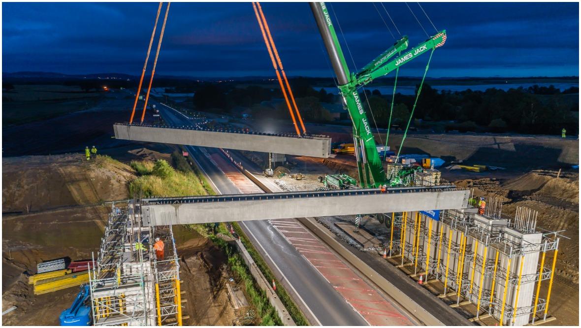 a9 bridge beams