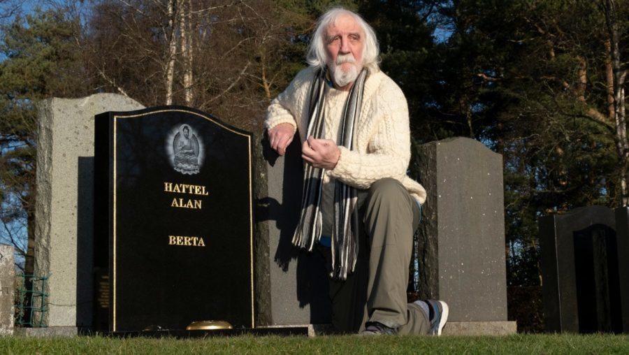 Alan Hattel says news of his death has been exaggerated.
