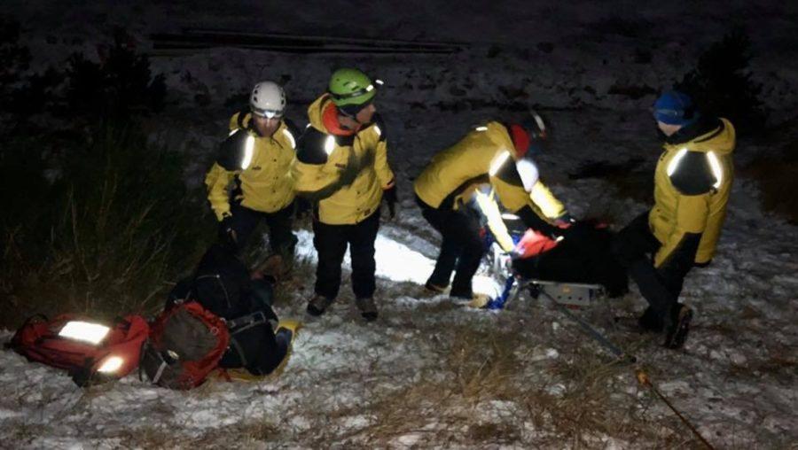 Rescue: A team shared a 'rant' on social media