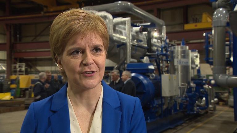 Nicola Sturgeon January 15 2020.