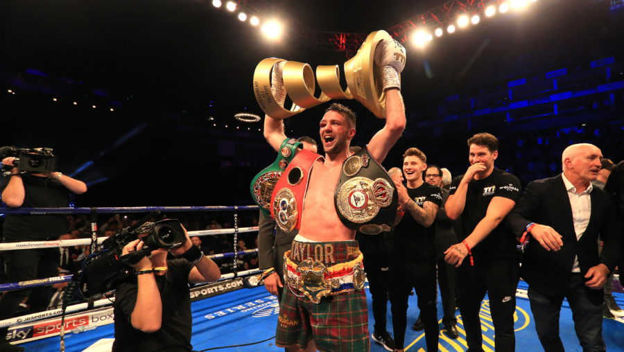 Taylor holds the WBA and IBF titles.