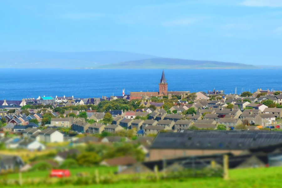Kirkwall: Orkney took top place in the study.