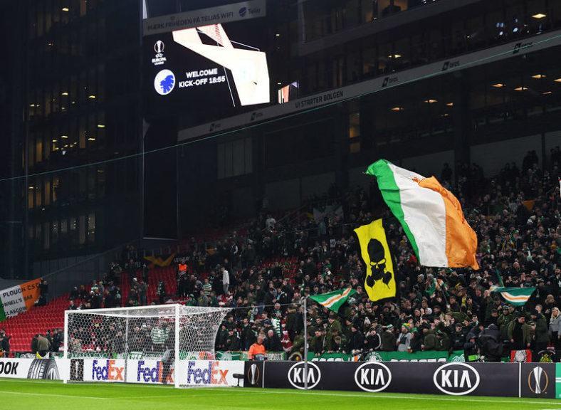 Celtic fans: praised by Danish police.