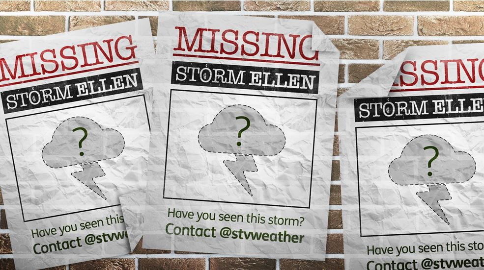 The anticipated Storm Ellen failed to materialise last month.