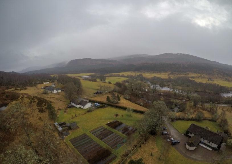 Trees for Life: The site in the Highlands is set to be transformed.