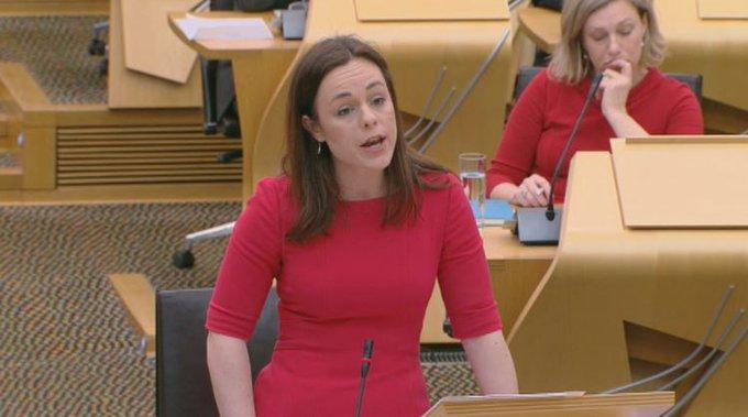 Plea: Public finance minister Kate Forbes.