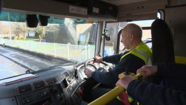 West Dunbartonshire bin lorry