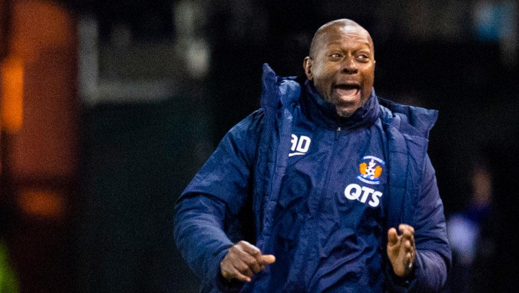Dyers saw his side bounce back to beat Rangers.