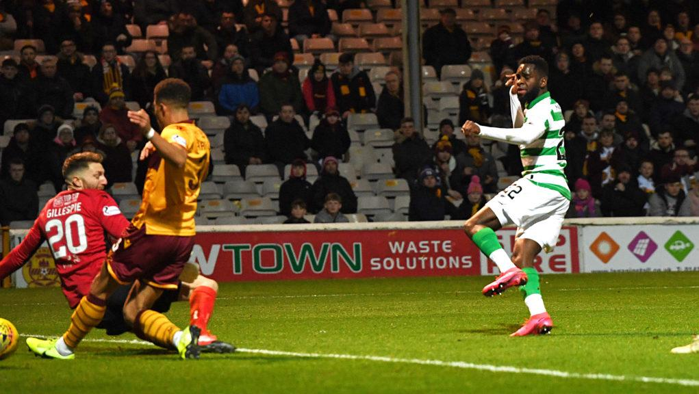 Odsonne Edouard set Celtic on the road to victory.