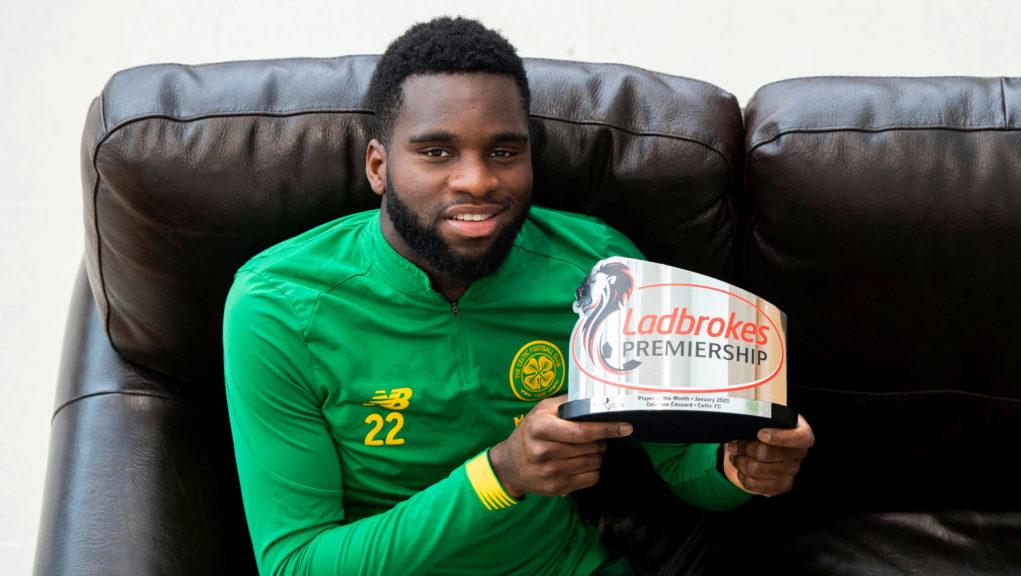 Edouard has been named as Player of the Month.