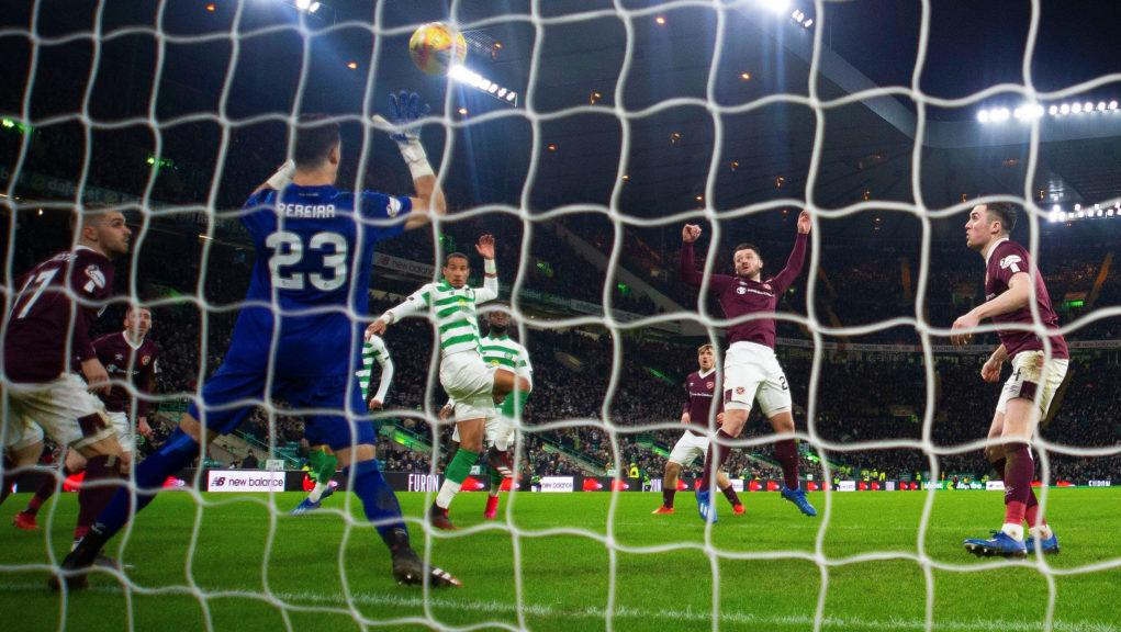 Celtic demolished Hearts to extend their lead.