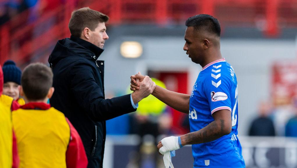 Morelos scored his first goal in five games.