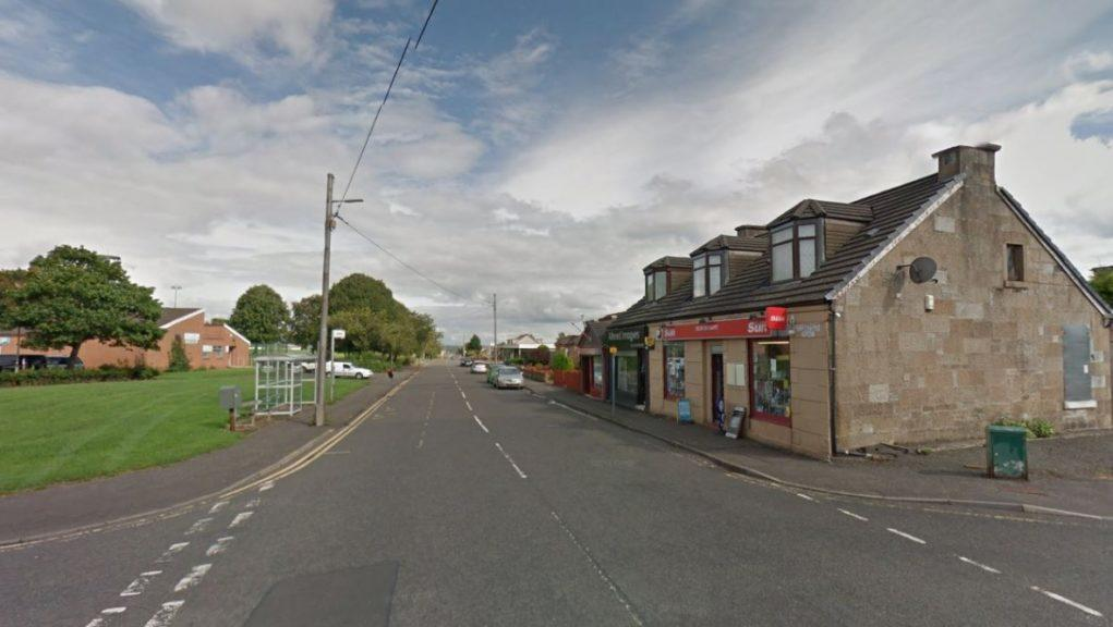 Blantyre: The robber targeted the shop on Saturday.