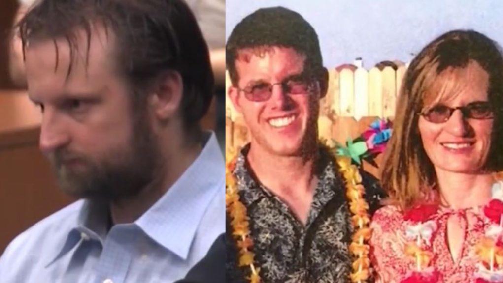 California: Derek Connell shot Kim and Christopher Higginbotham.