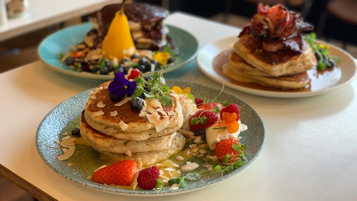 Cafe Strange Brew pancakes 2020