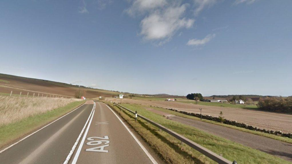 Fife: The collision happened on the A92.