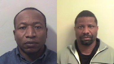 Sidney Ochouba and Busayo Oladapo, Police Scotland.