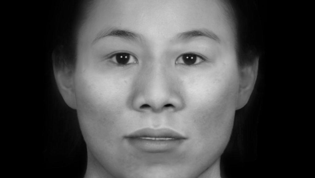 Investigation: Liverpool John Moores University reconstructed what the woman would have looked like.