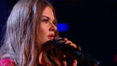 Holly Scally on The Voice UK
