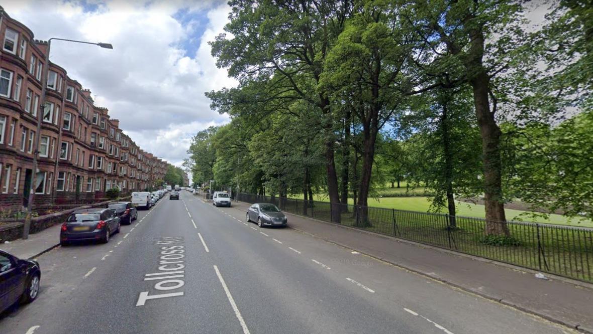 Tollcross Road, Glasgow.