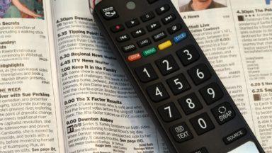 Television remote.