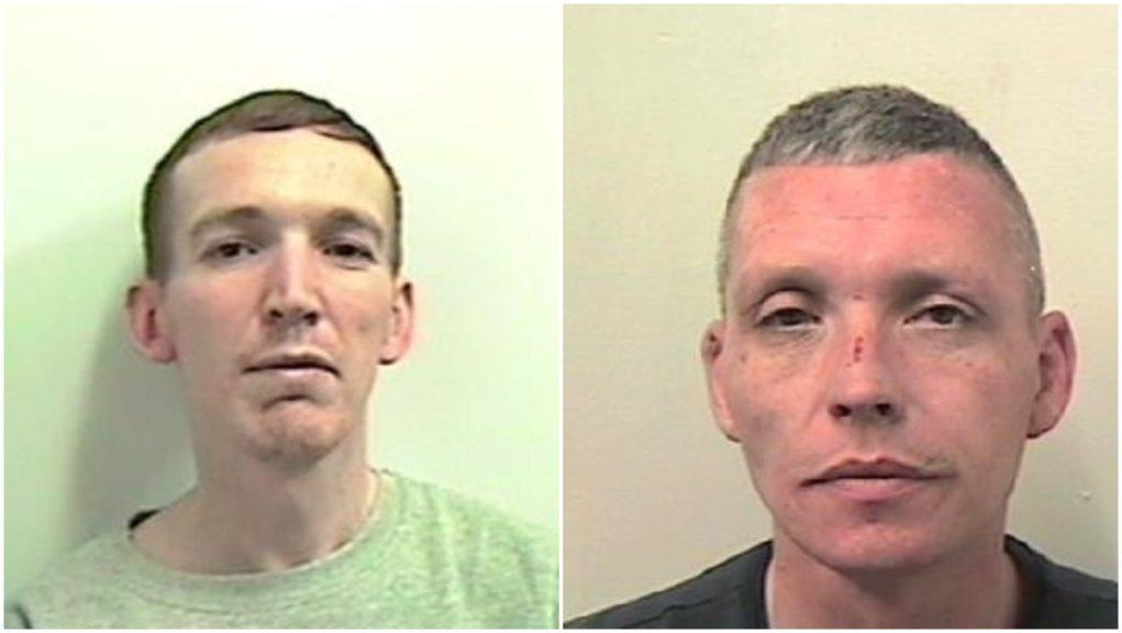 Jailed: James Weir and William Tracy.