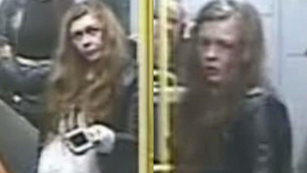 CCTV: Police want to speak to the woman pictured.